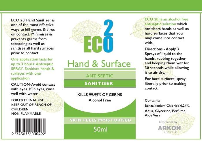 Eco20 Hand Sanitiser